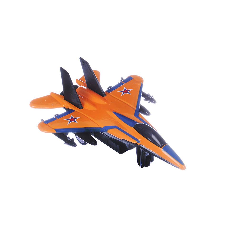 ИГРОЛЕНД Истребитель Кондор, металл, 12х6,5х3,5см, 8 дизайнов