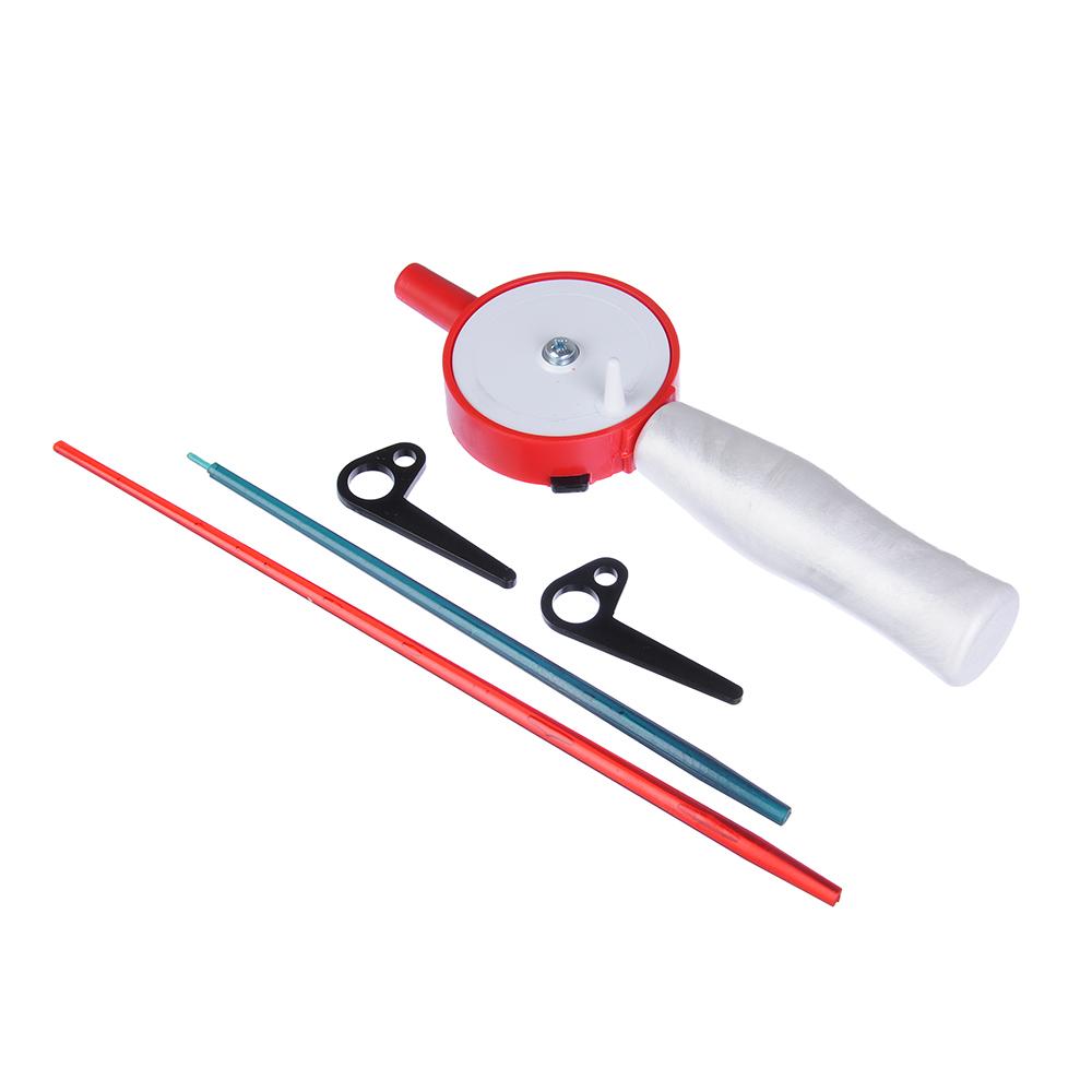 AZOR FISHING Удочка зимняя с ручкой из пенополистирола, два шестика из поликарбоната