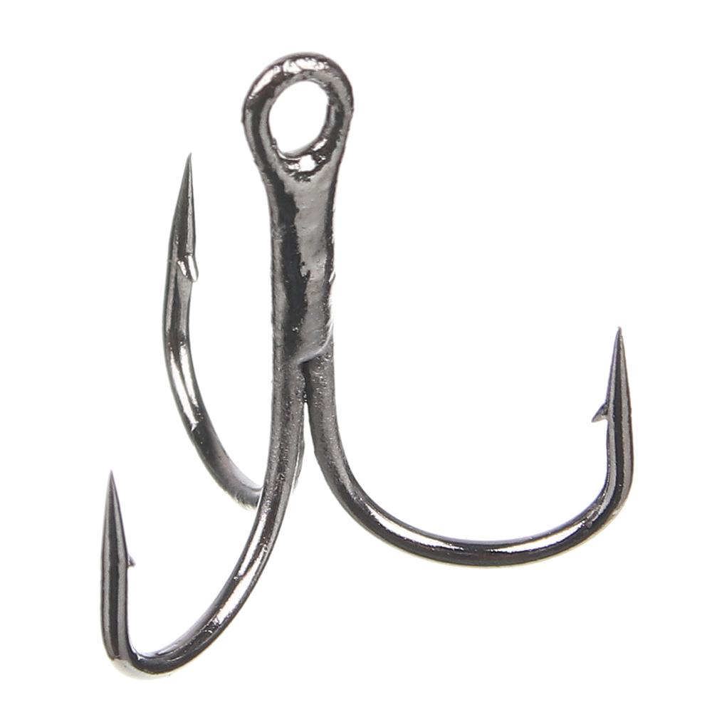 AZOR FISHING Набор крючков тройников 5 шт № 4, 6, 2 вида