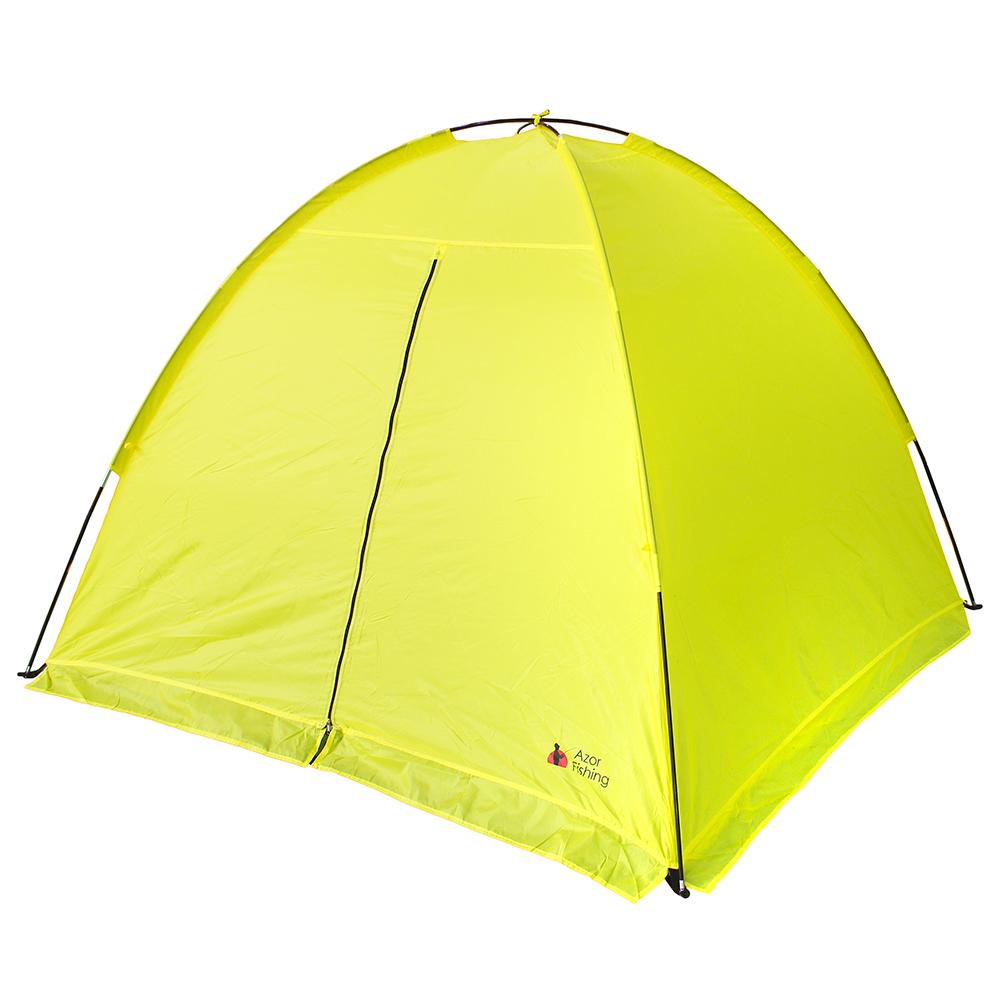 AZOR FISHING Палатка зимняя, дуговая, полиэстер, стеклопластик,185х185х140см