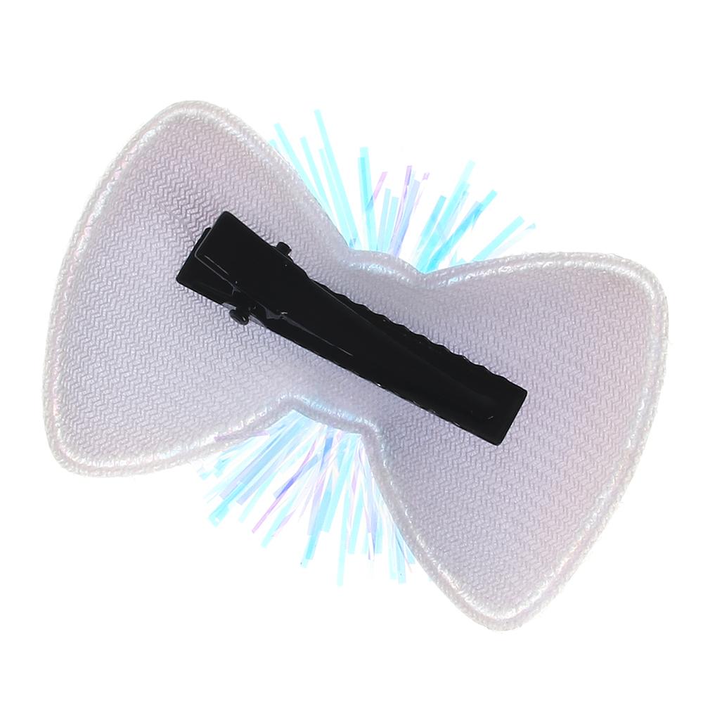 Заколка-зажим для волос, полиэстер, сплав, ПВХ, 4,2см, 3 дизайна