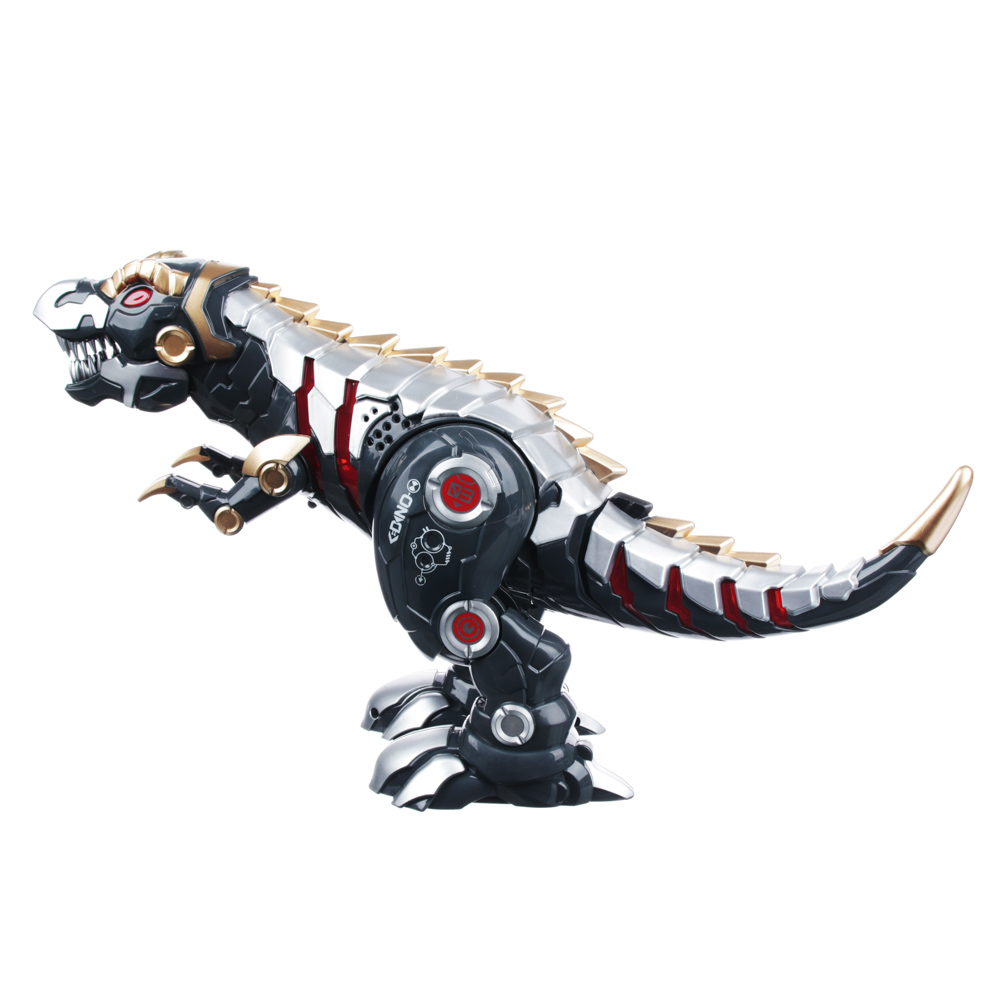 ИГРОЛЕНД Робот-динозавр на пульте упр., ИК, свет, звук, движ., 5ААА, пластик, 33х17х30см