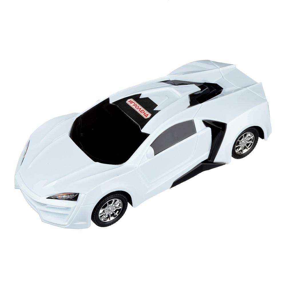 ИГРОЛЕНД Машина седан, инерция, пластик, 28,5х12,5х6,5-7,5 см, 3 цвета