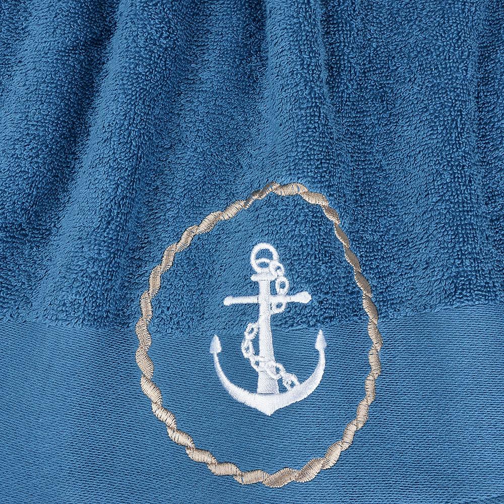 """Полотенце махровое подарочное 50х90 см PROVANCE """"Море"""", 100% хлопок, 400 гр/м, 2 дизайна"""