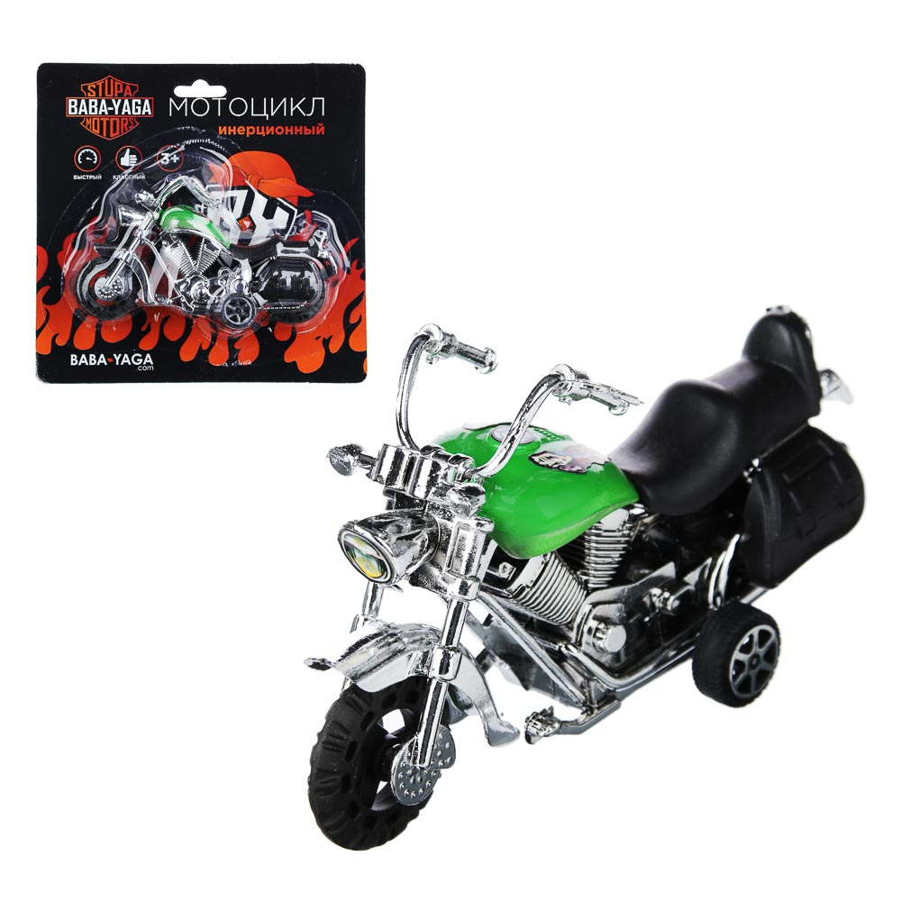 BY Мотоцикл, инерция, пластик, 12х6,5х4,5см, 2 дизайна