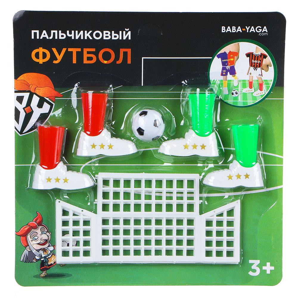 ИГРОЛЕНД Игра настольная пальчиковый футбол, пластик, 20,5х21х2,8см
