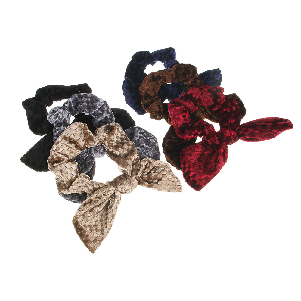 Резинка для волос BERIOTTI, d.8 см, 3-6 цветов