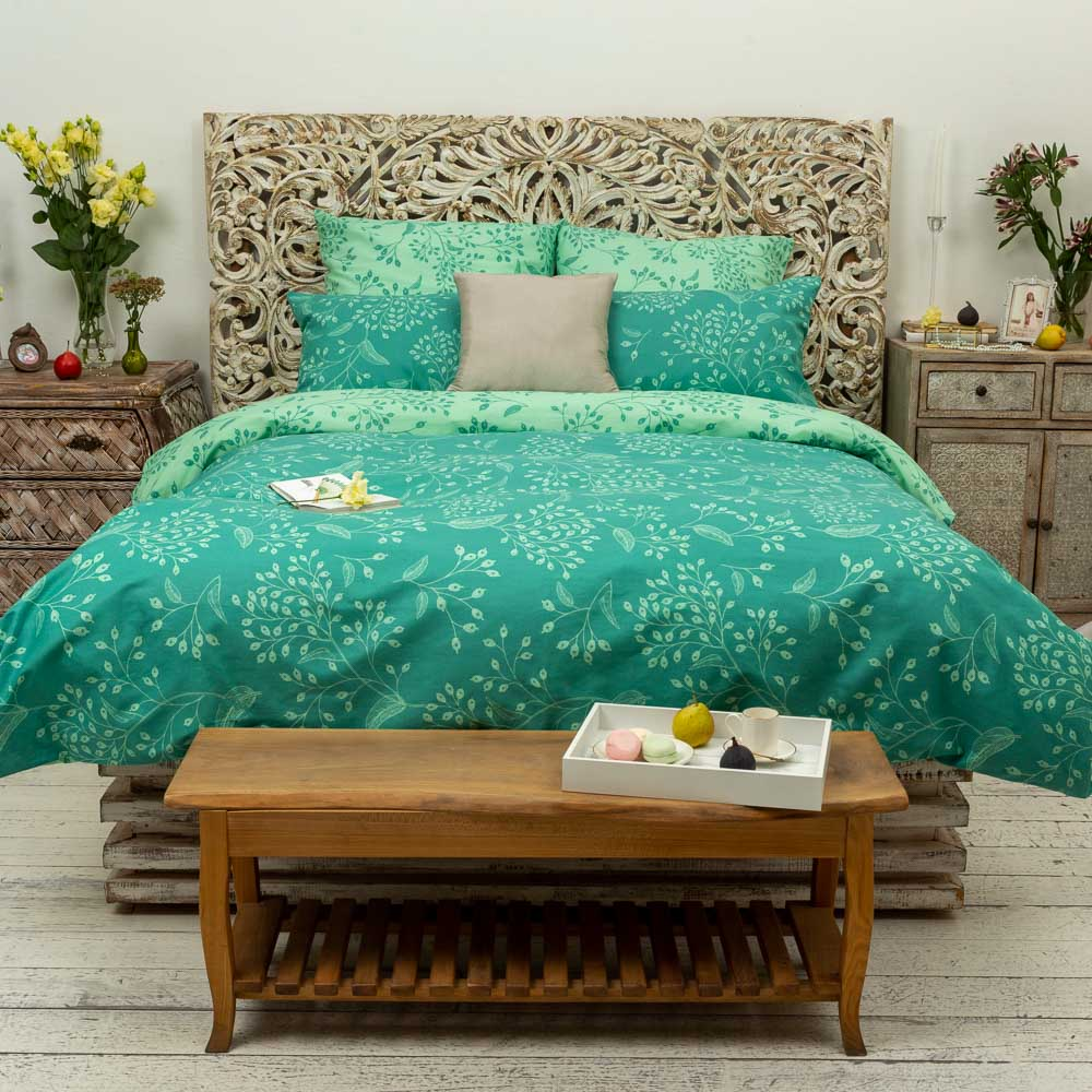 Комплект постельного белья евро PROVANCE бязь 125гр/м, 100% хлопок
