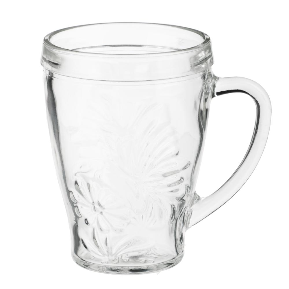 """Кружка стеклянная 300 мл, """"грация"""""""