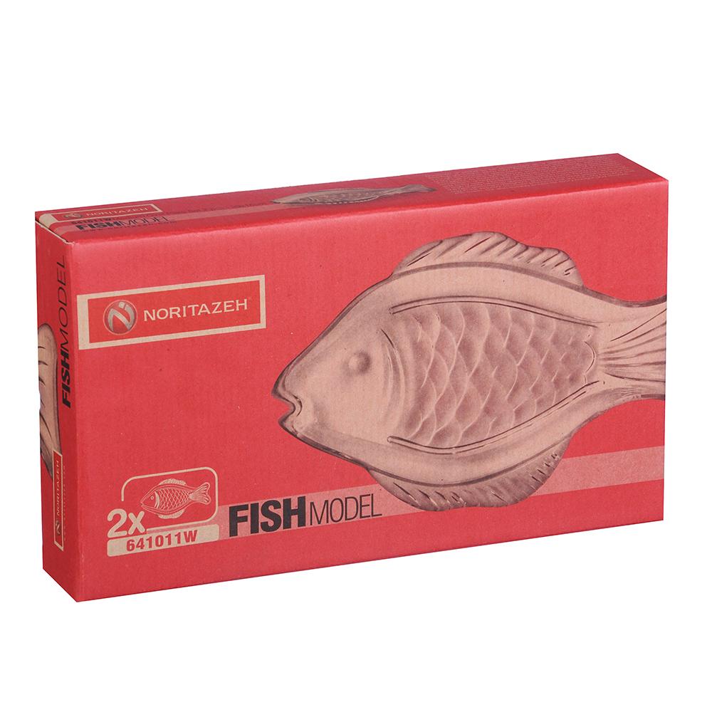Noritazeh Fish Набор 2 блюд овальных, 29x16 см, стекло, под.упак.