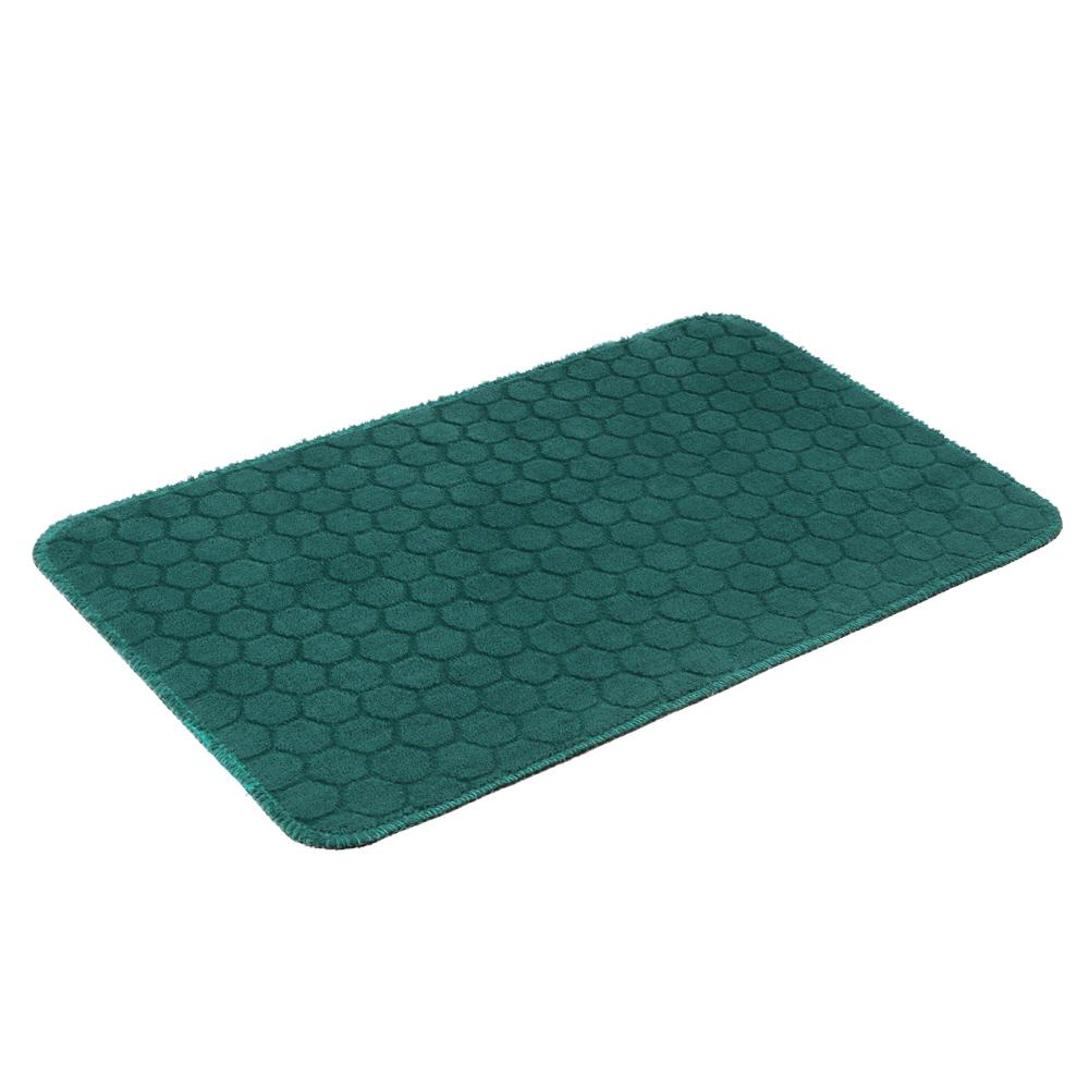 VETTA Коврик велюровый «Плитка», полиэстер, 35х55 см, 3 дизайна