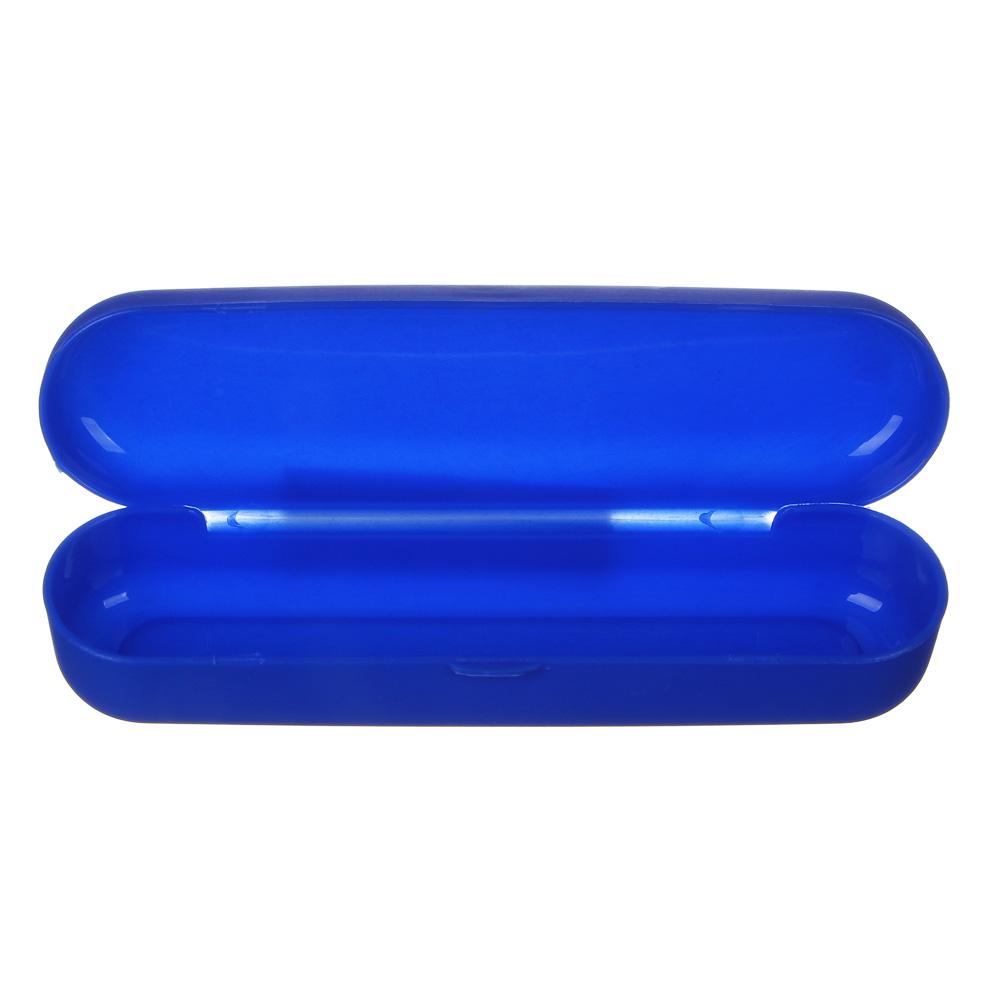 Футляр для очков, пластик, 15х4см, 6 цветов, ЧО20-08