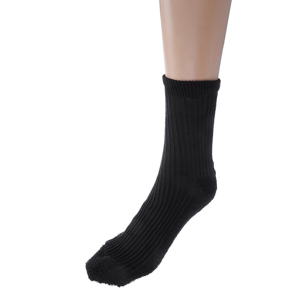Носки женские, ЖТ-751 «махровый след», 40% хлопок, 60% полиэфир, р.23-25, 2 цвета
