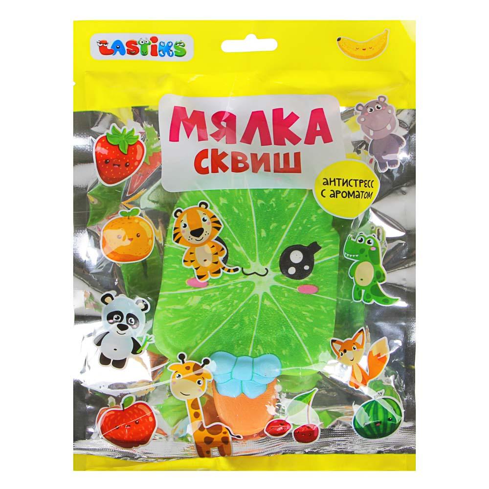 """LASTIKS Мялка """"Сквиш еда"""", с ароматом, 8-13см, полиуретан, 4-8 дизайнов"""