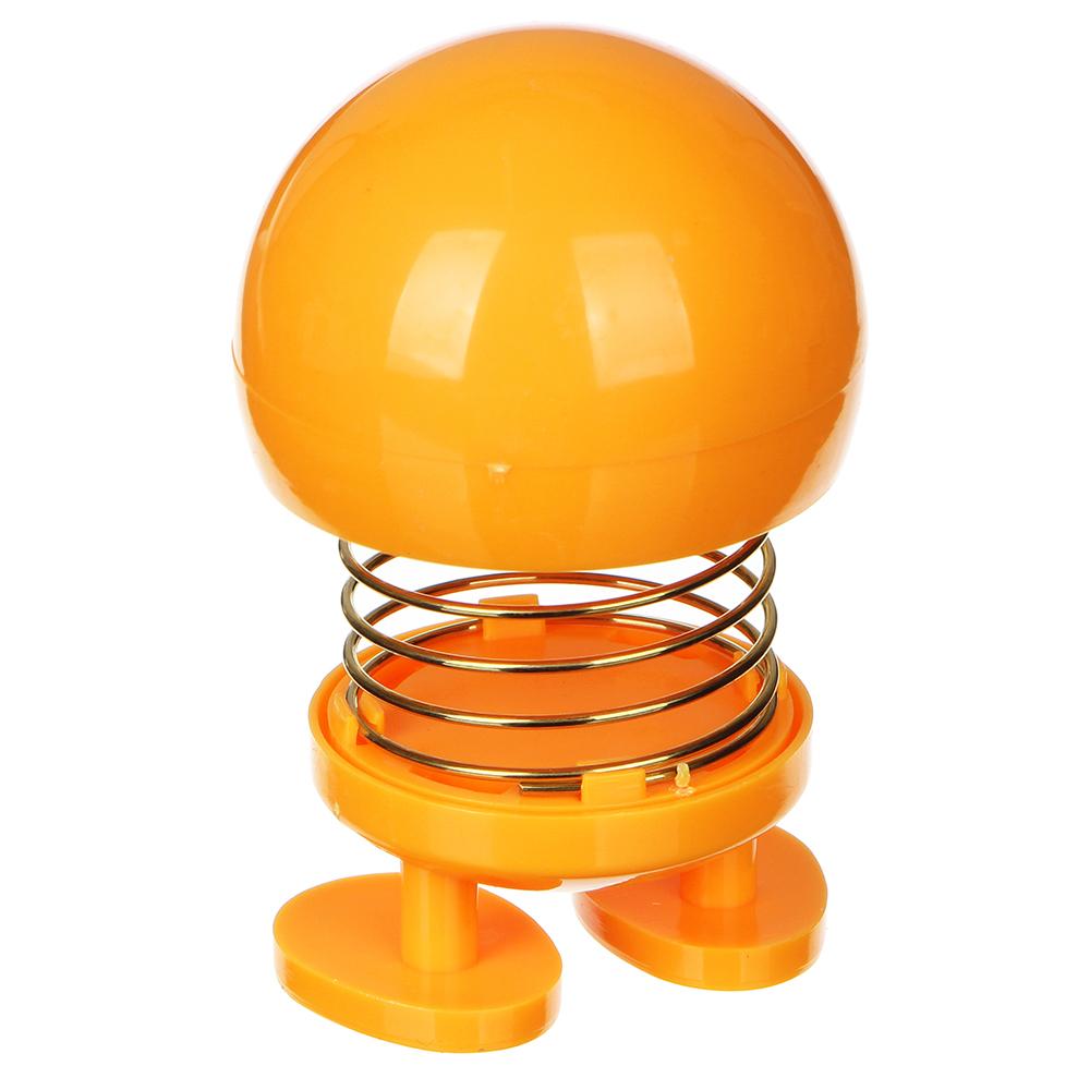 BY Попрыгунчик на пружине-антистресс, пластик, 4,3х6,8см, 2-4 дизайна
