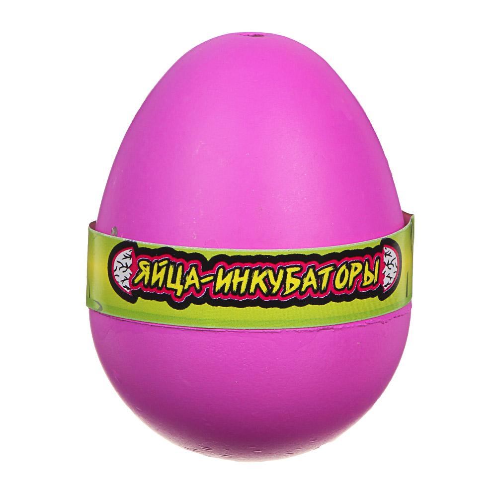 """ИГРОЛЕНД Игрушка """"Яйца-инкубаторы"""", полимер, 4,5х6х4,5см, 3-12 дизайнов"""