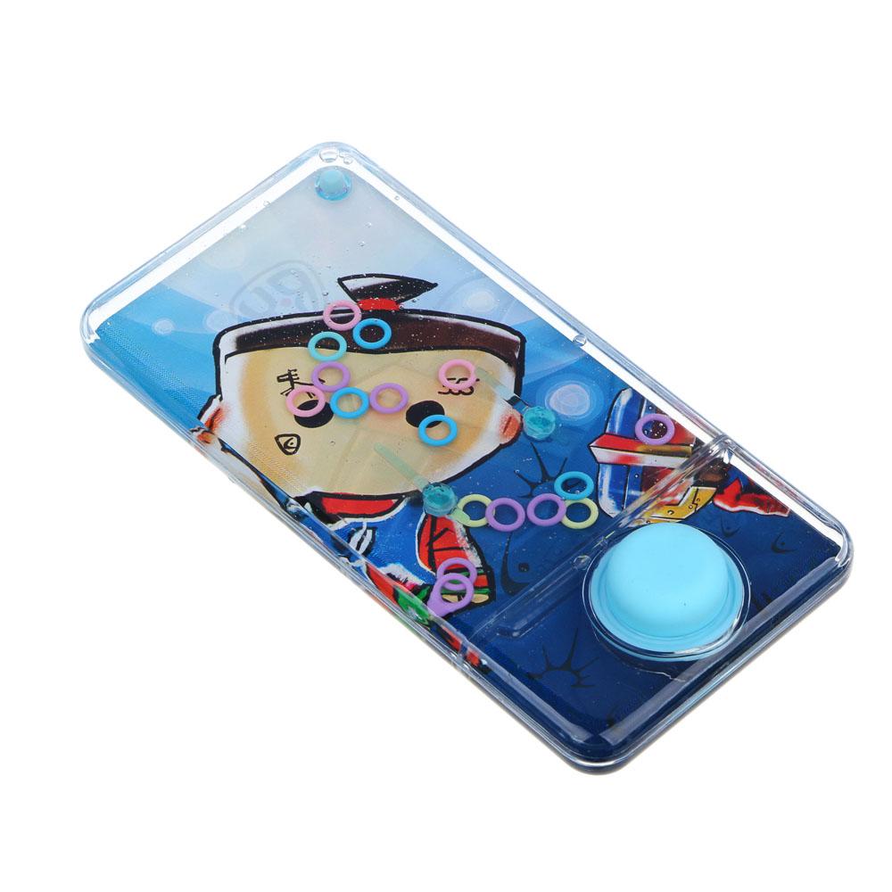 BY Пинбол водный в виде смартфона, пластик, 13,5х6,5см, 1-3 дизайна