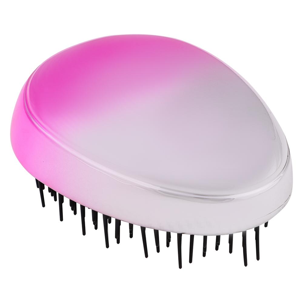 ЮниLook Расческа массажная, пластик, 8,5х6,5см, 3-4 цвета