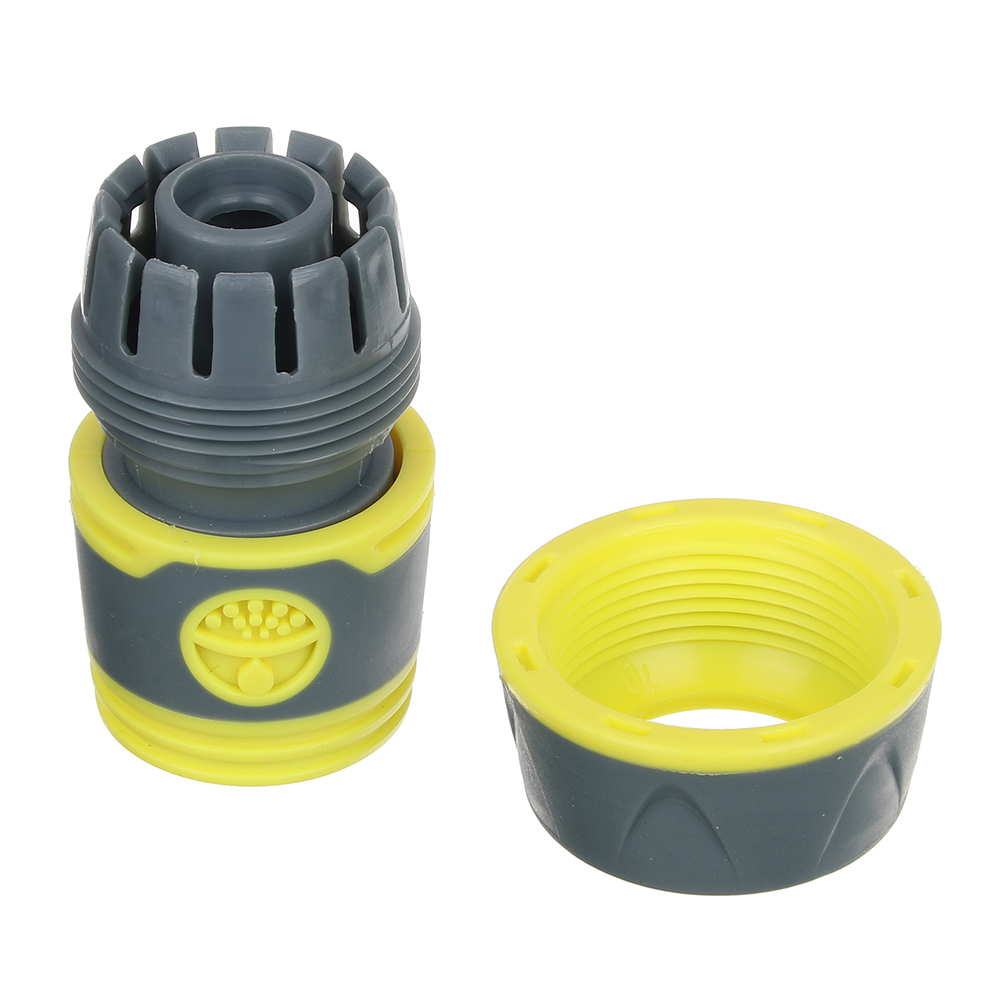 INBLOOM PROF+ Коннектор быстросъемный для шланга 3/4, обрезиненное покрытие ABS