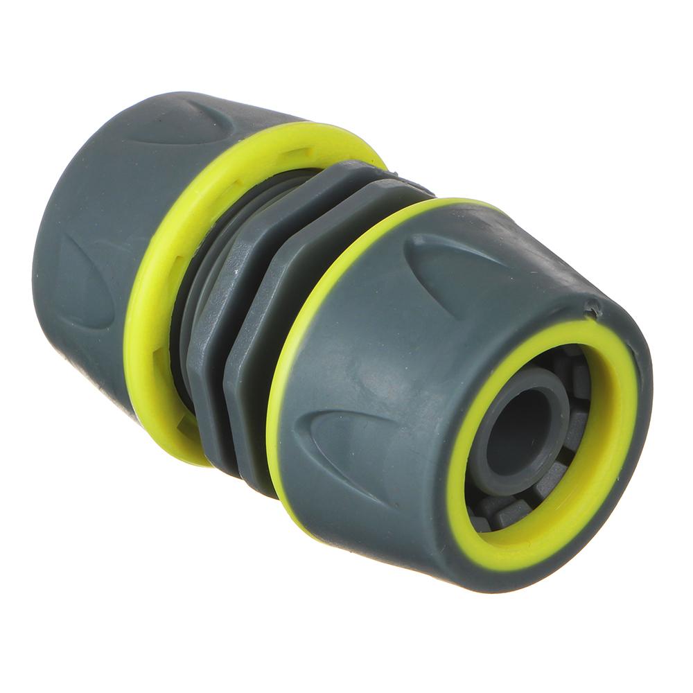 INBLOOM PROF+ Муфта ремонтная для шланга 1/2, обрезиненное покрытие ABS