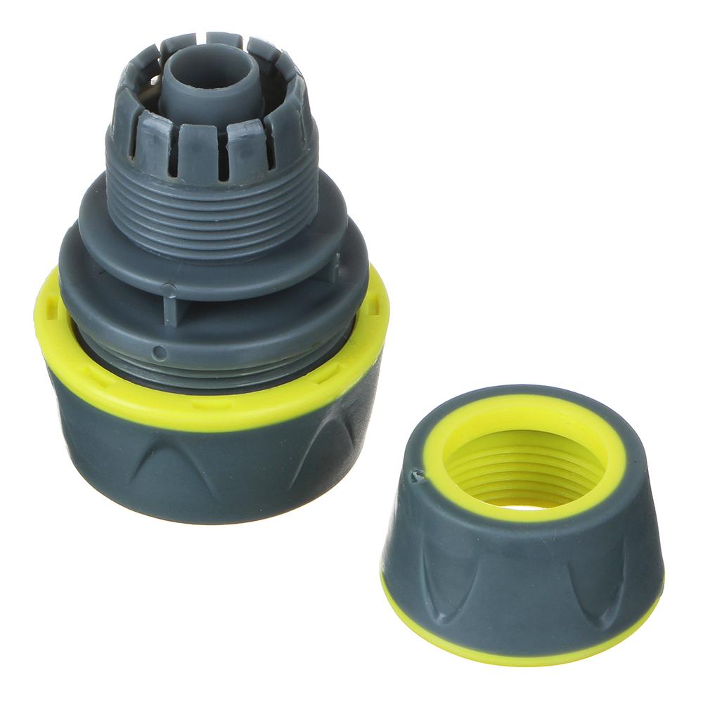 INBLOOM PROF+ Муфта ремонтная для шланга 1/2,-3/4 обрезиненное покрытие ABS