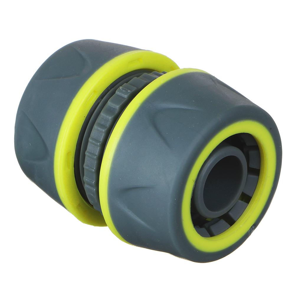 INBLOOM PROF+ Муфта ремонтная для шланга 3/4 обрезиненное покрытие ABS