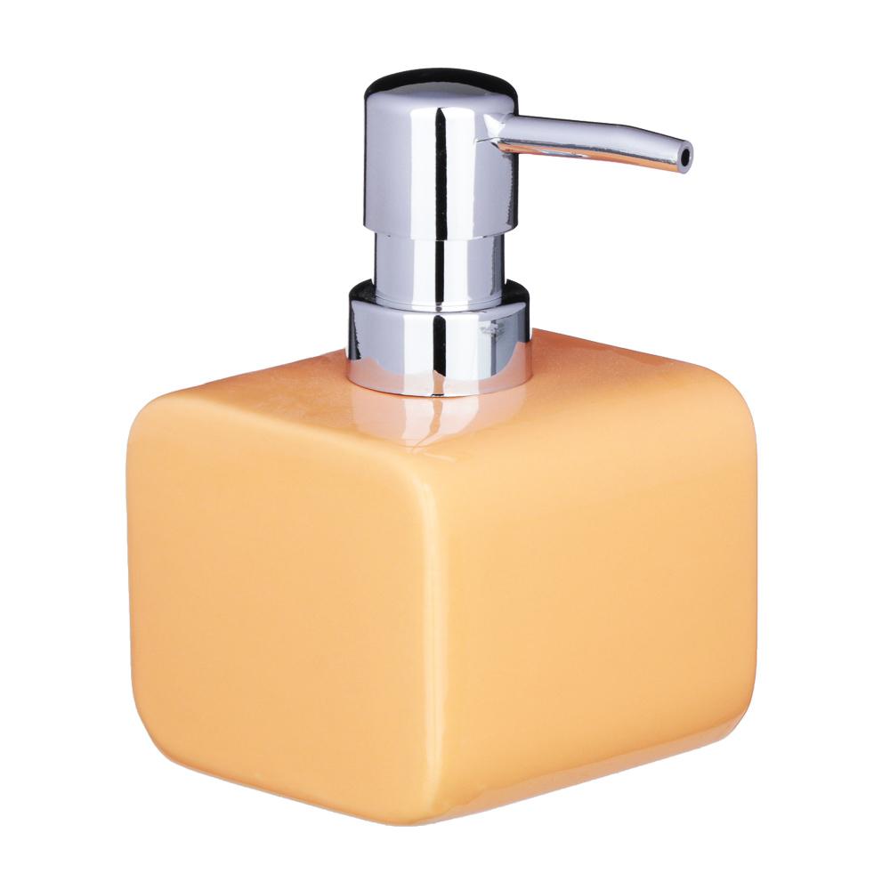 """VETTA Дозатор для жидкого мыла, """"Орнамент"""", керамика, 2 цвета"""