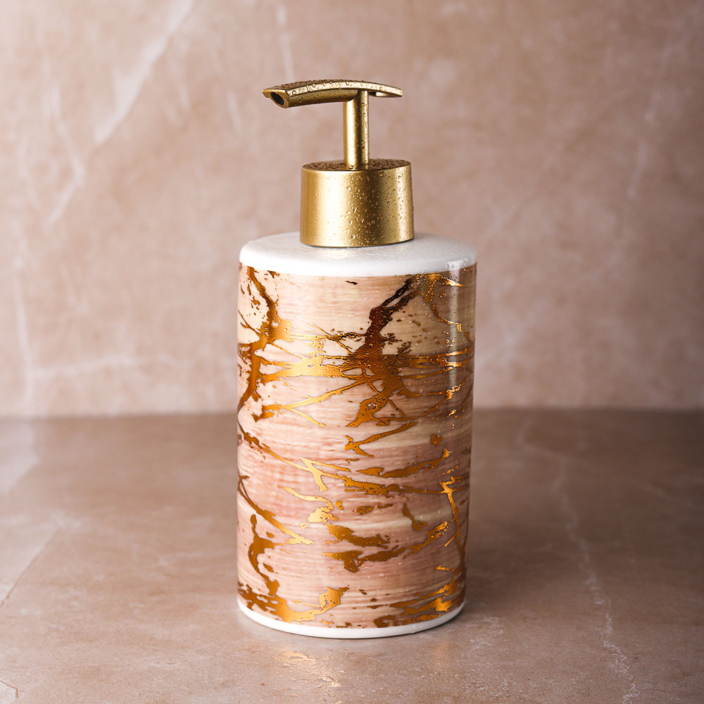 "VETTA Дозатор для жидкого мыла, ""Модерн"", керамика, 3 цвета"