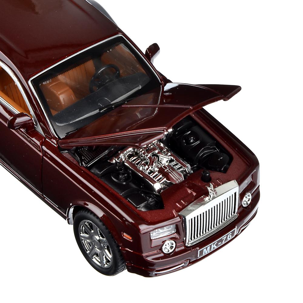 ИГРОЛЕНД Машина лимузин, премиум, свет, звук, инерция, металл, 20,5х6,5х6см, 2 дизайна