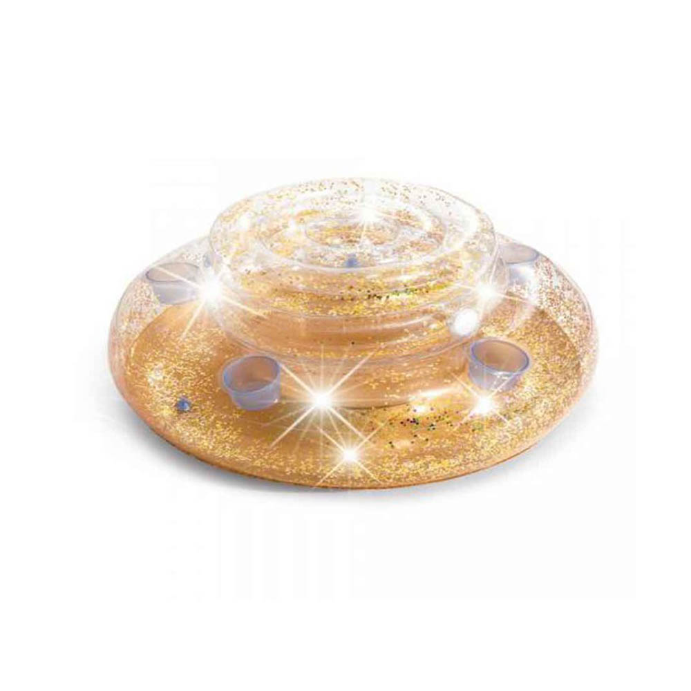INTEX Бар плавающий надувной с глиттером для охлаждения напитков, 74x33см, ПВХ, 56810