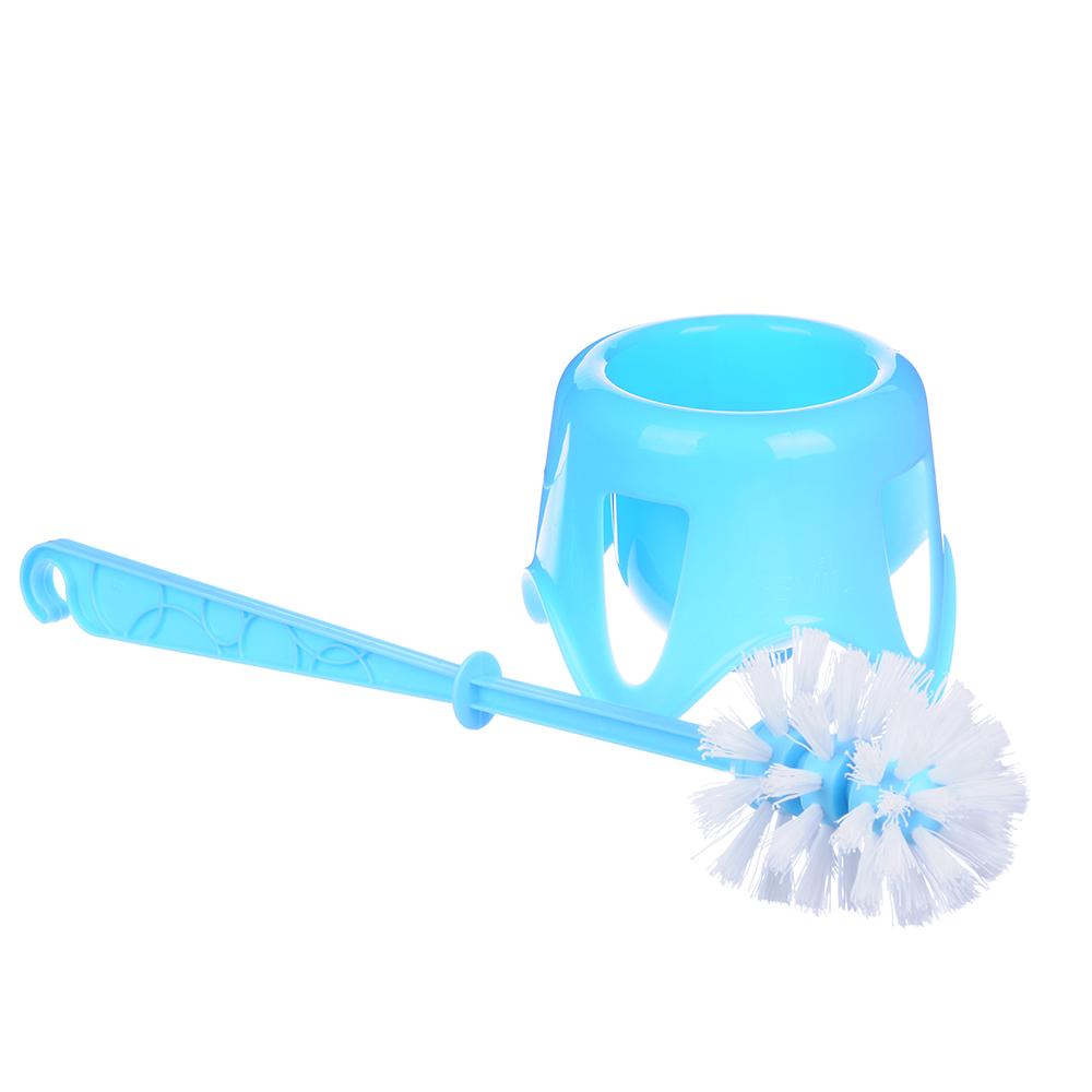 """Ерш для туалета """"Практик""""/""""Мини"""", пластик, арт. 463000/463936"""