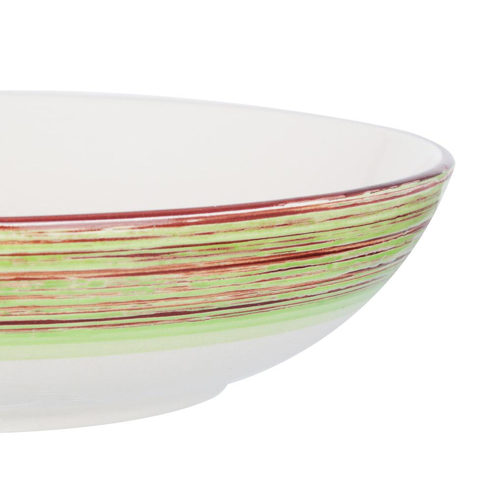 Африка Салатник 870мл, 20,3х5см, керамика, 3 цвета