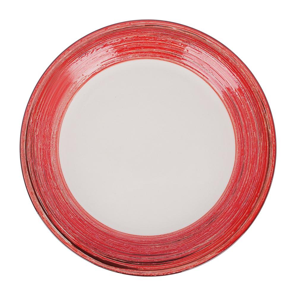 Африка Тарелка подстановочная 26,3х3см, керамика, 3 цвета