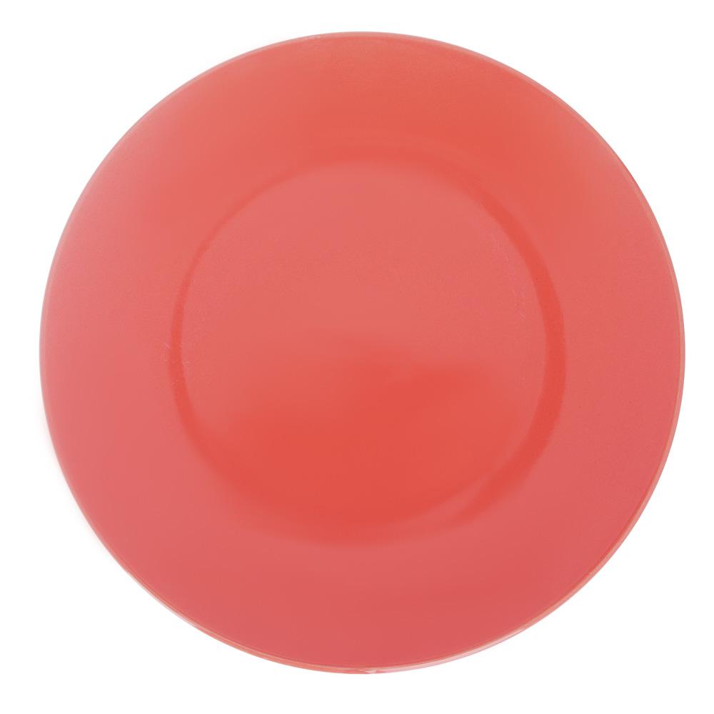 Глянец Тарелка десертная, 20х2,3см, керамика, 3 цвета