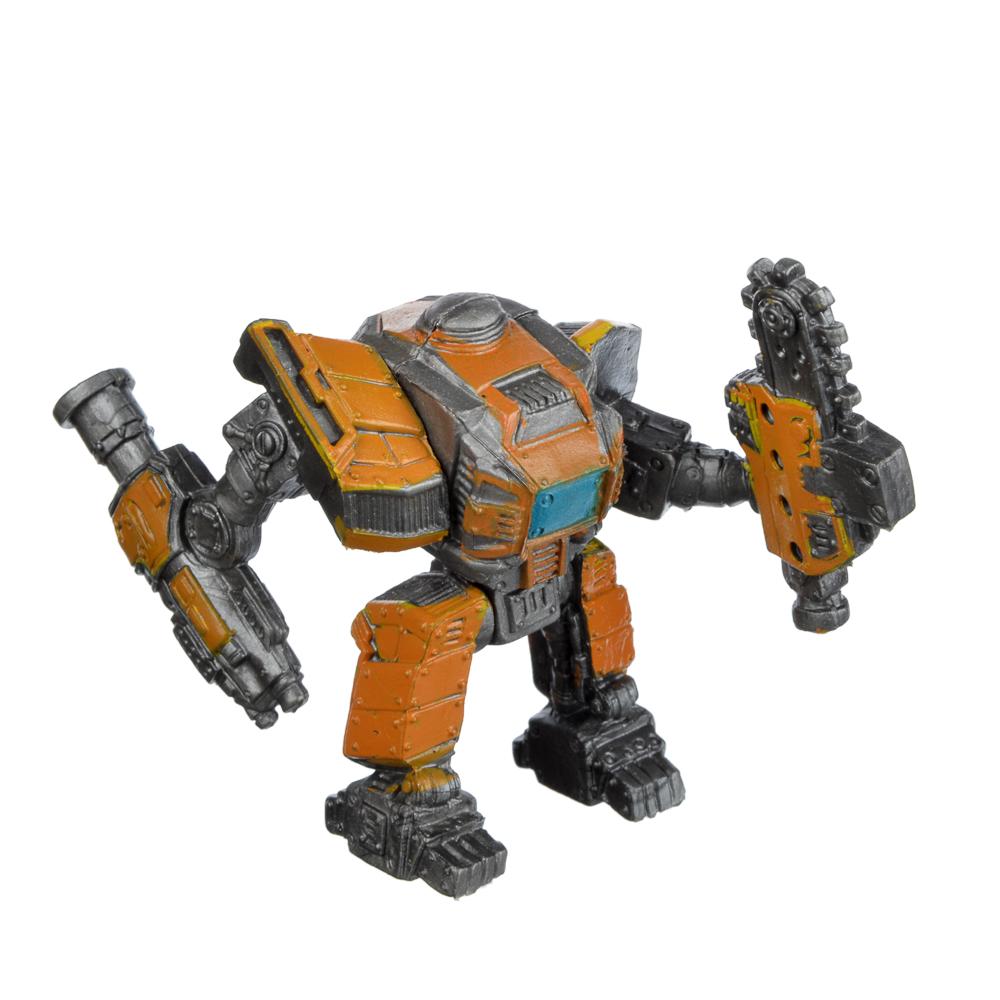 ИГРОЛЕНД Фигурки боевых роботов, пластик, 8,5х6,5х5см, 6 дизайнов