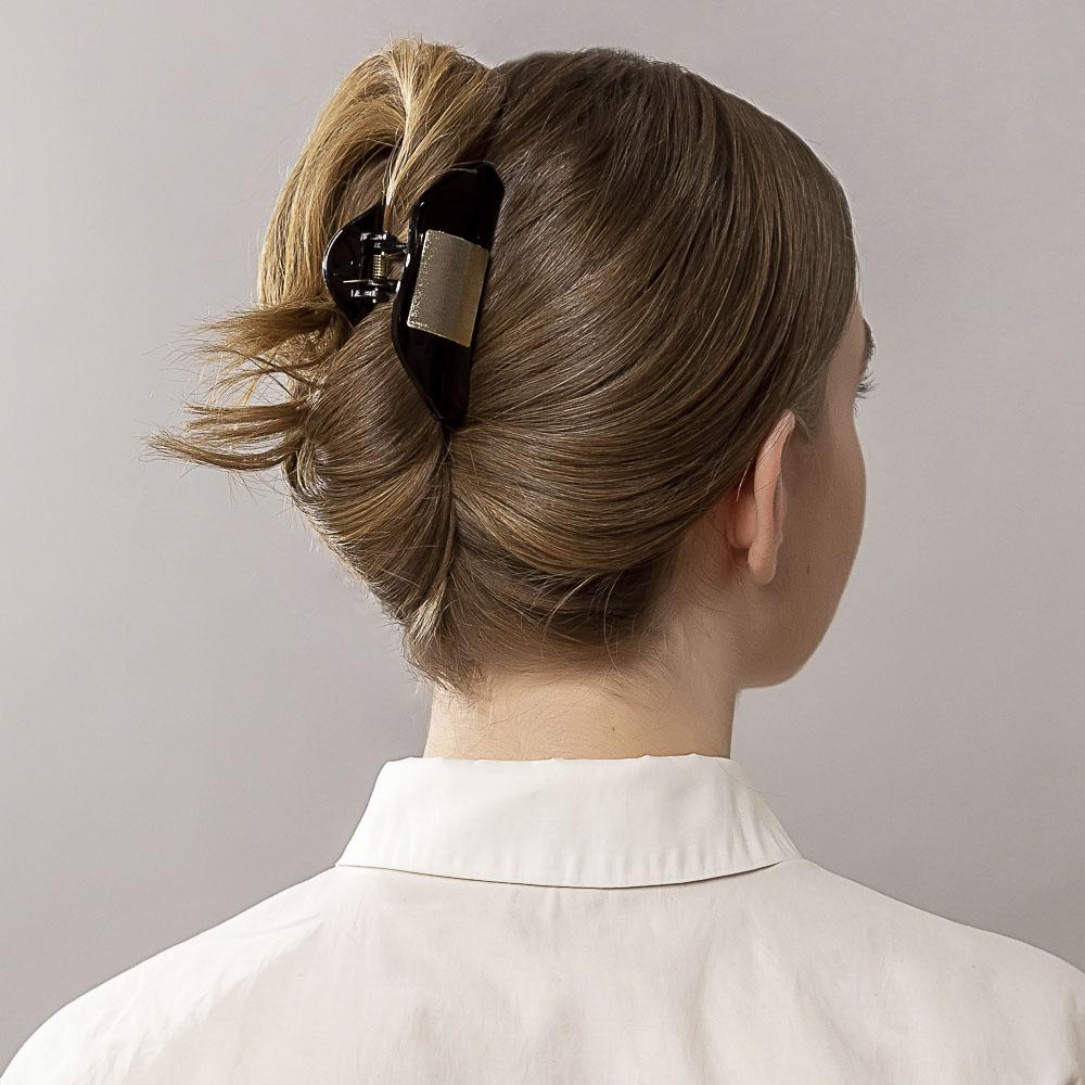 Краб для волос BERIOTTI, 2 дизайна, 8 см