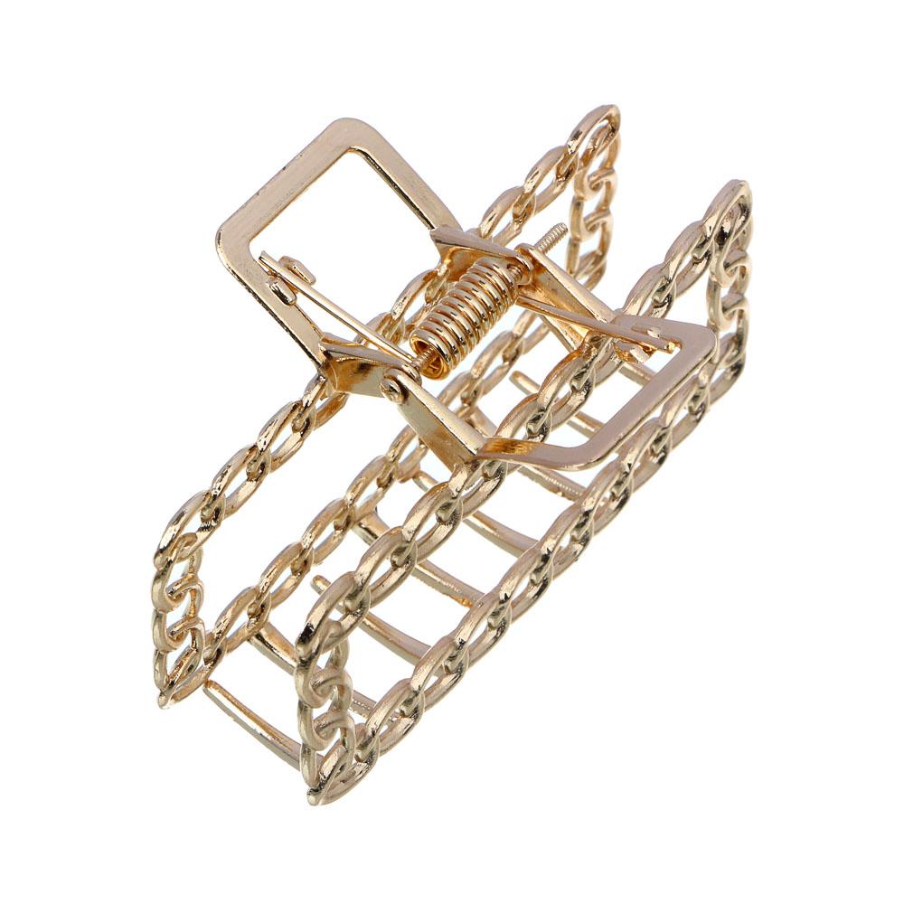 Краб для волос BERIOTTI, 4-6 дизайнов, 7-8 см