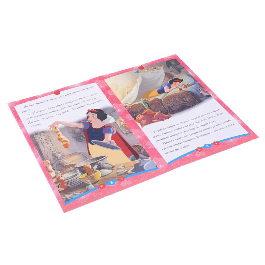 """ЛЕВ Книга """"Сказка-малышка. Мультфильмы"""", бумага, 14х21см, 16стр., 10 дизайнов"""