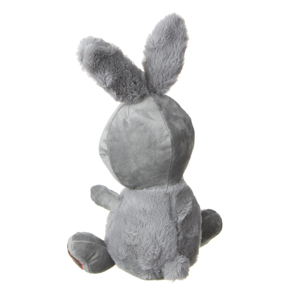 МЕШОК ПОДАРКОВ Игрушка мягкая в виде зайца, 30см, полиэстер, 2 цвета