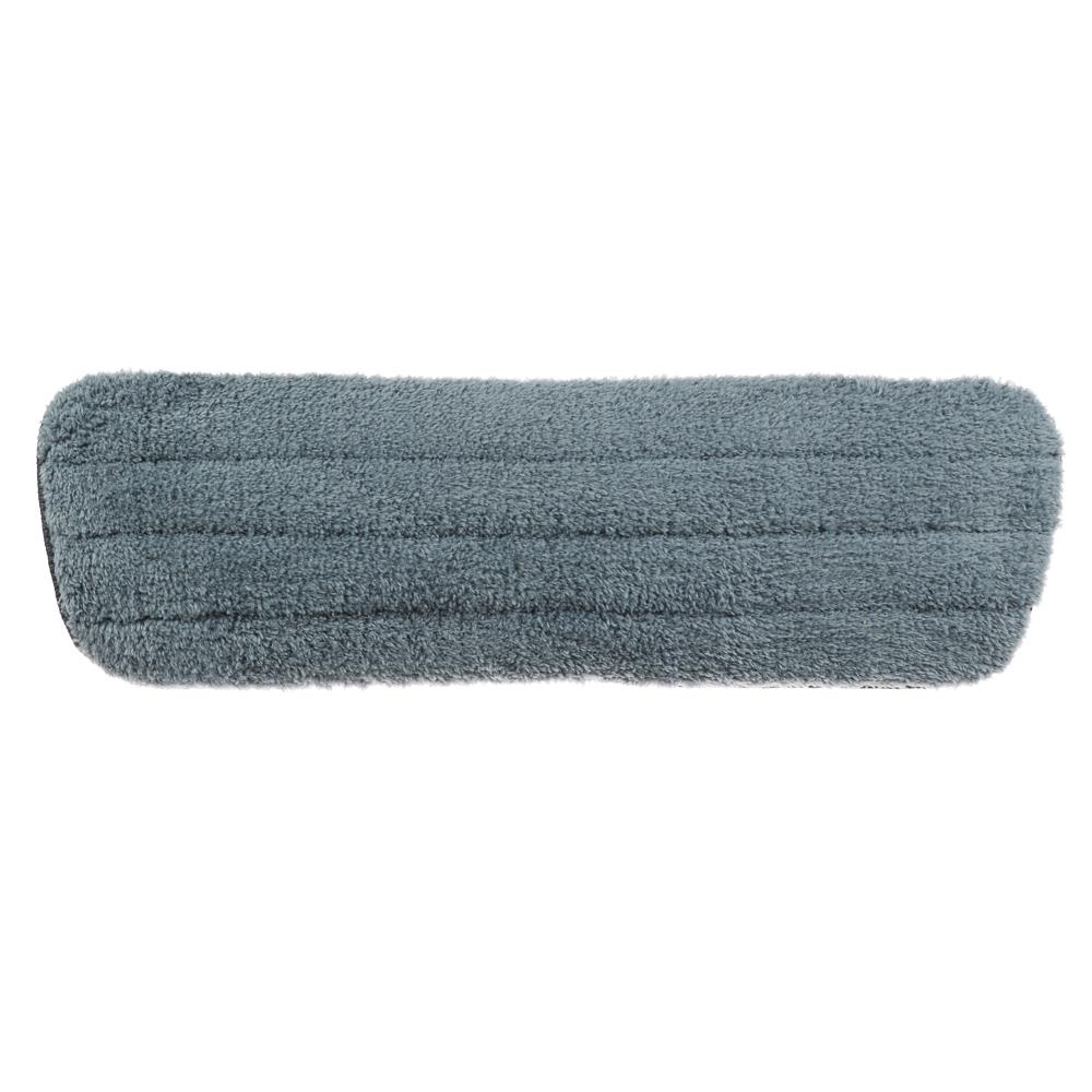 VETTA Насадка для швабры с распылителем на липучках, микрофибра 41x13см