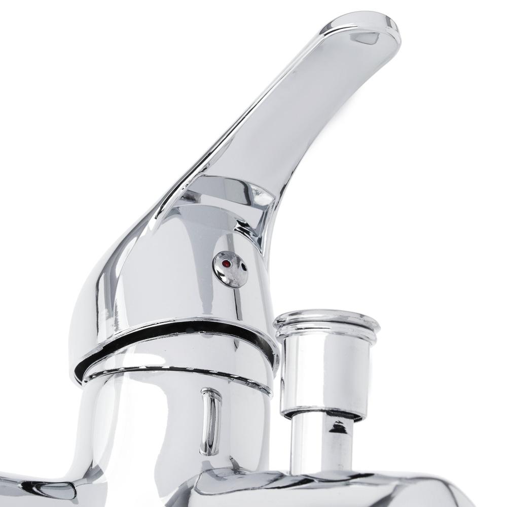 Набор смесителей для раковины и ванны, короткий излив, без душ. набора, без подводки, 35мм, цинк