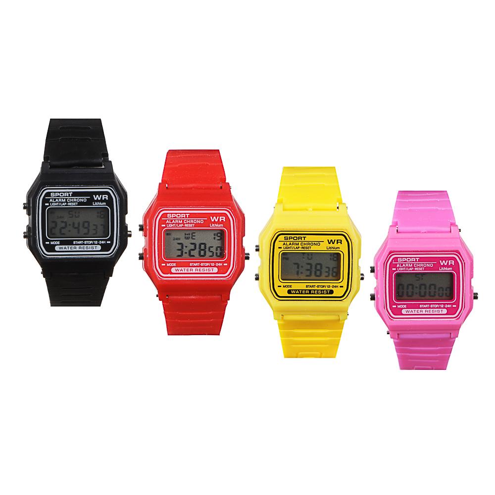 BERIOTTI Часы электронные, 4-6 цветов, тип батарейки MG-10, ЧН2020-4