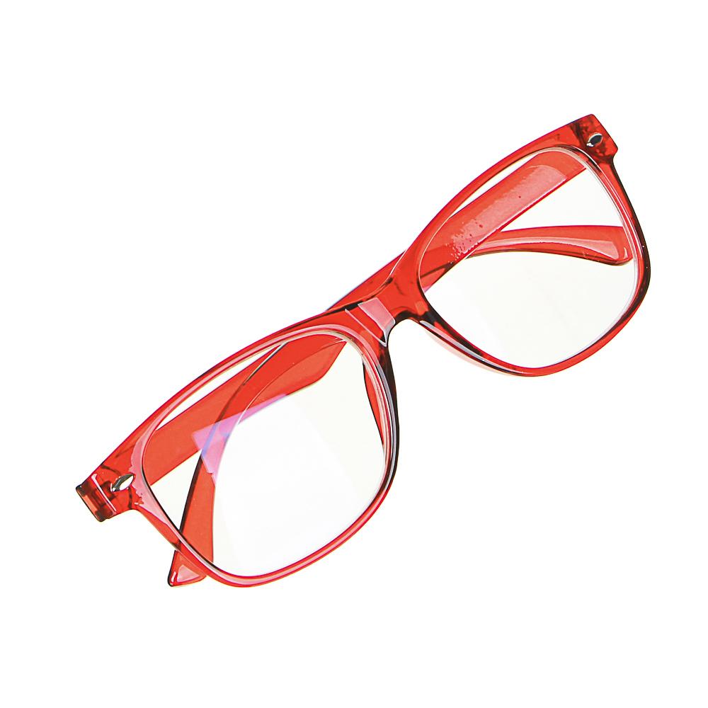 BERIOTTI Очки компьютерные, пластик, стекло, 14х4,2см, 4 цвета, ОК2020-3