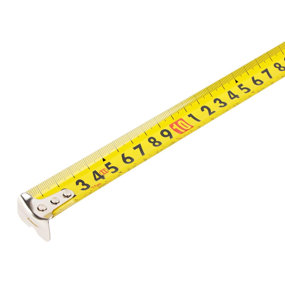 ЕРМАК Рулетка с обрезиненным корпусом, 7,5м х 25мм