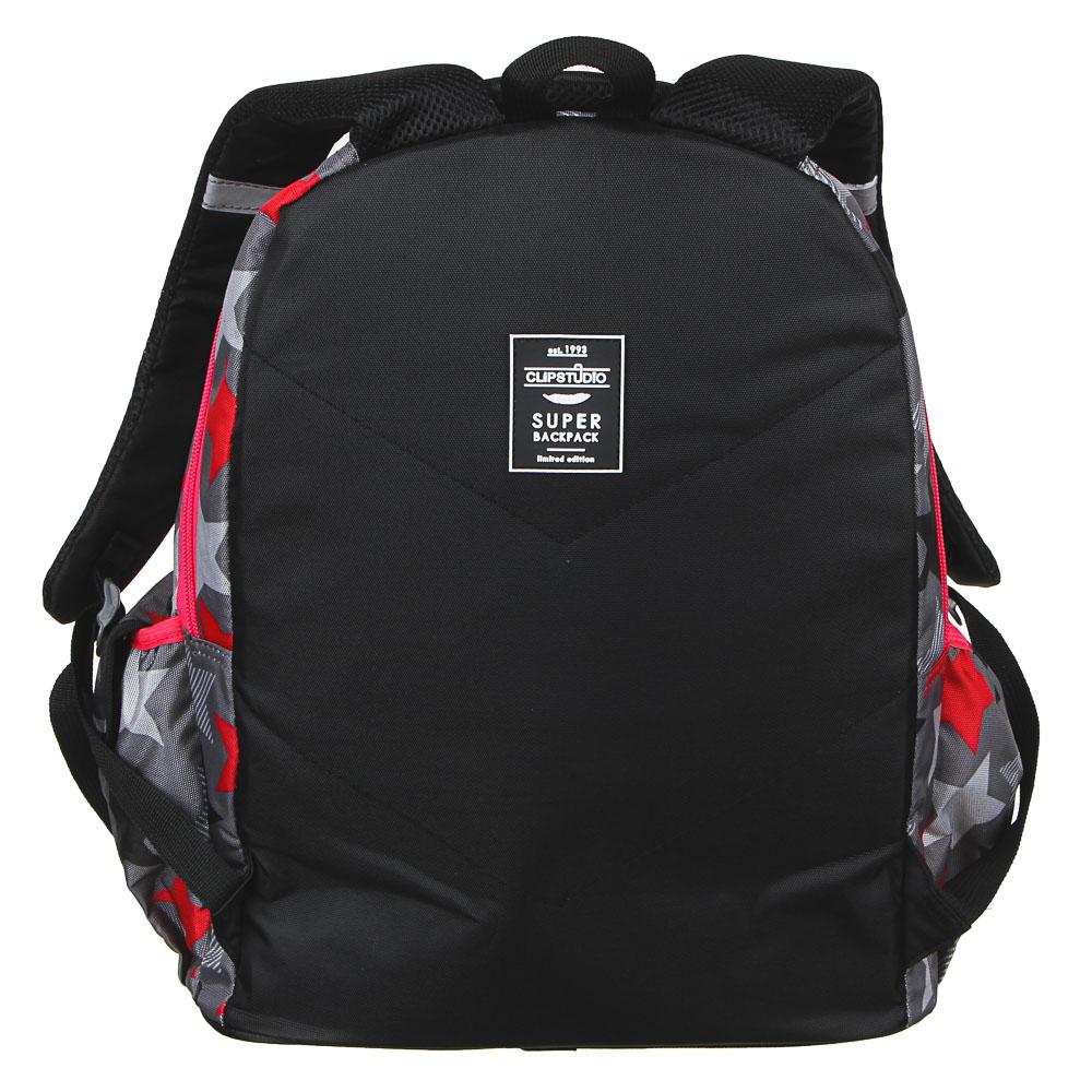 Тим стар Рюкзак подростковый, 44х34х23см, ПЭ, 2 отделения, 2 кармана, уплотненные спинка и лямки