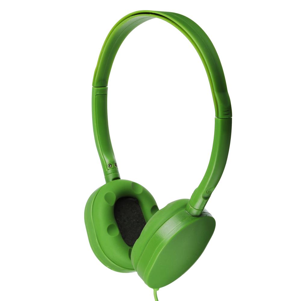 FORZA Наушники накладные проводные, кабель 120см, 4 цвета, пластик