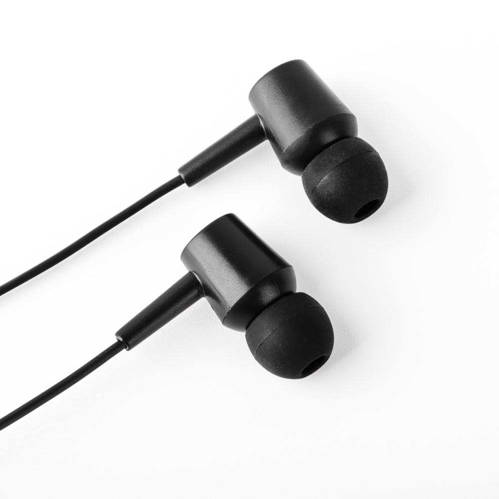 FORZA Наушники вакуумные с микрофоном, длина 115см, 4 цвета, пластик