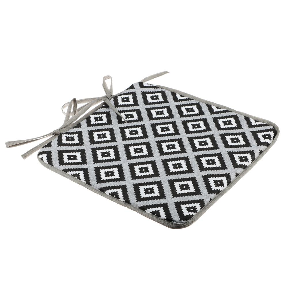 Подушка на стул, 34х34см, рогожка