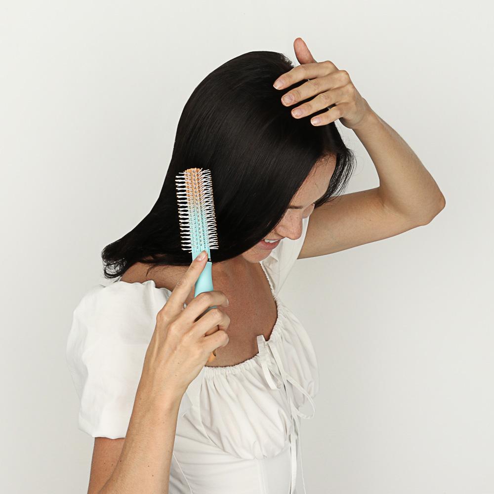 """Расческа-брашинг ЮниLook """"Градиент"""", 22,3х4,2 см, 4 дизайна"""