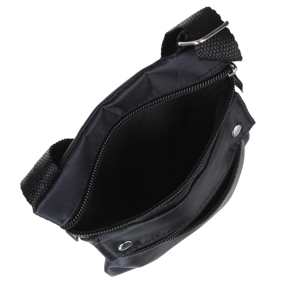 PAVO Сумка для документов, полиэстер, 21х17см, цвет черный